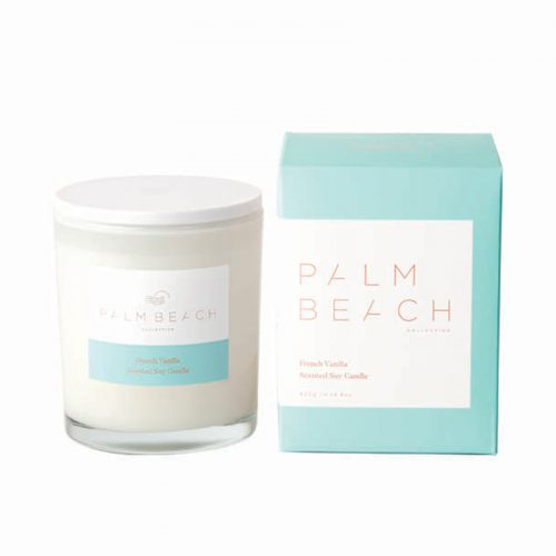 Palm Beach French Vanilla Candle at Flower Gallery on Waiheke Island