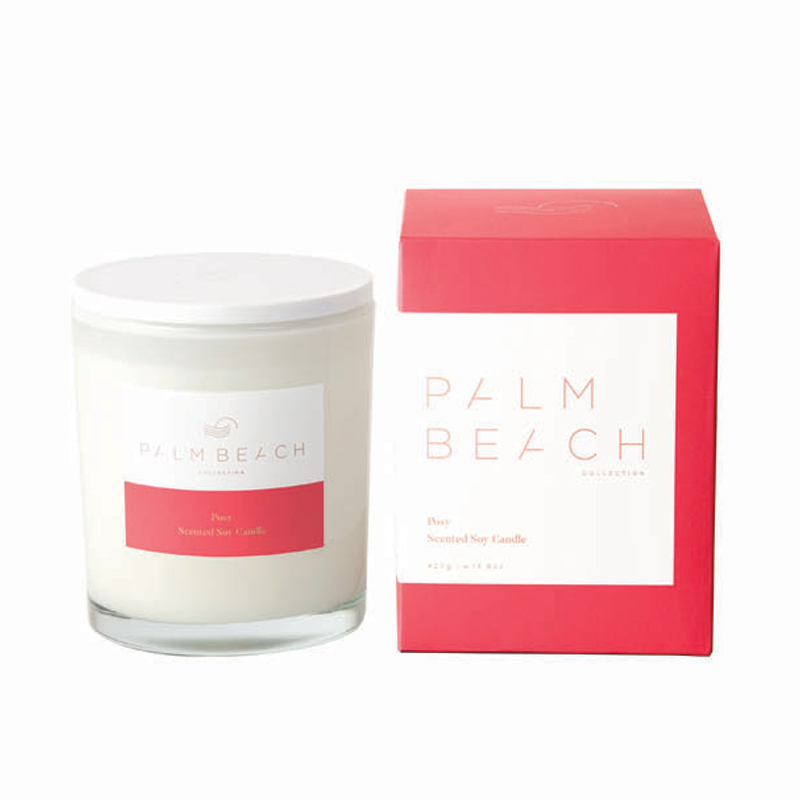 Palm Beach Posy Candle at Flower Gallery on Waiheke Island