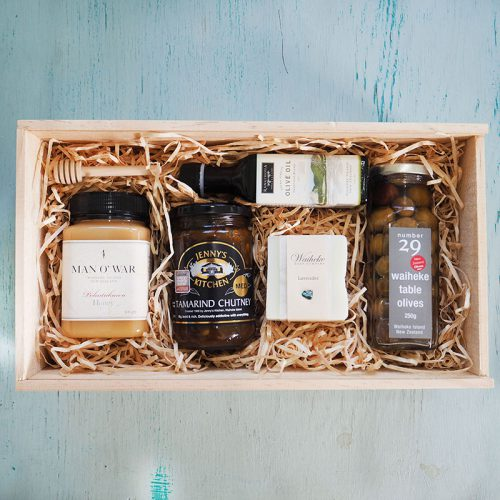 Gift Hamper by Flower Gallery on Waiheke Island