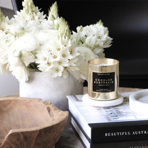 Cocolux_Lifestyle Brass Candle