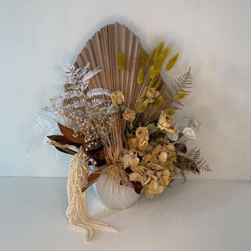 Large Dried Flowers - Arrangement in Vessel - Flower Gallery
