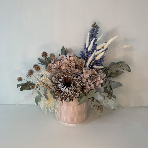 Dried Flowers - Medium - Arrangement in Vessel - Flower Gallery