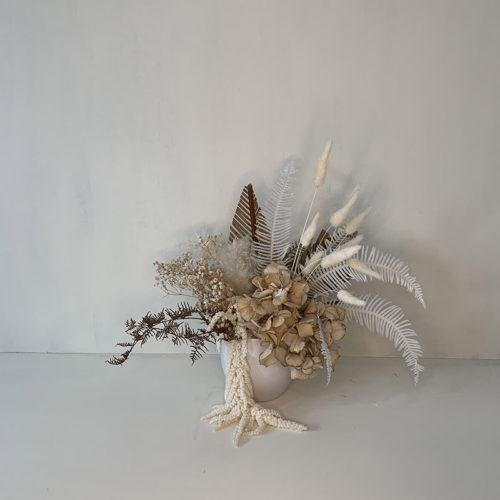 Small Dried Flowers - Arrangment in Vessel - Flower Gallery